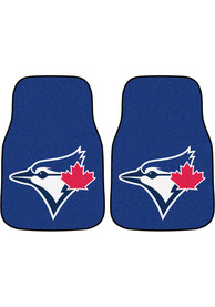 Sports Licensing Solutions Toronto Blue Jays 2-Piece Carpet Car Mat - Blue