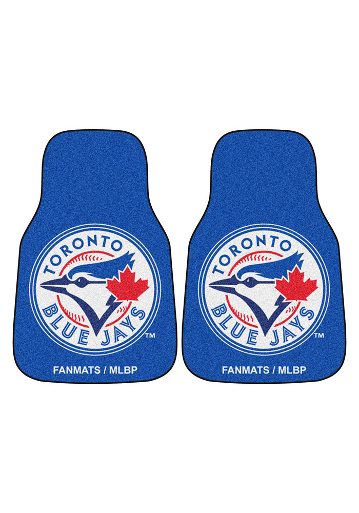 Sports Licensing Solutions Toronto Blue Jays 2-Piece Carpet Car Mat - Blue - Image 2