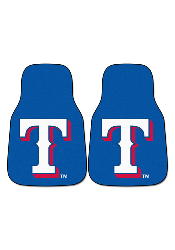 Texas Rangers 2-Piece Carpet Car Mat - Image 2