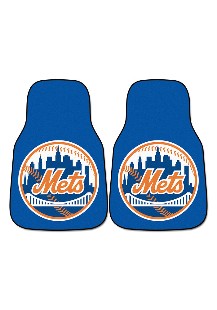 Sports Licensing Solutions New York Mets 2-Piece Carpet Car Mat - Blue - Image 2