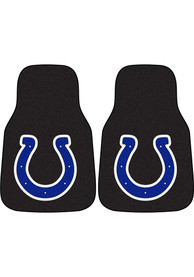 Sports Licensing Solutions Indianapolis Colts 2-Piece Carpet Car Mat - Black