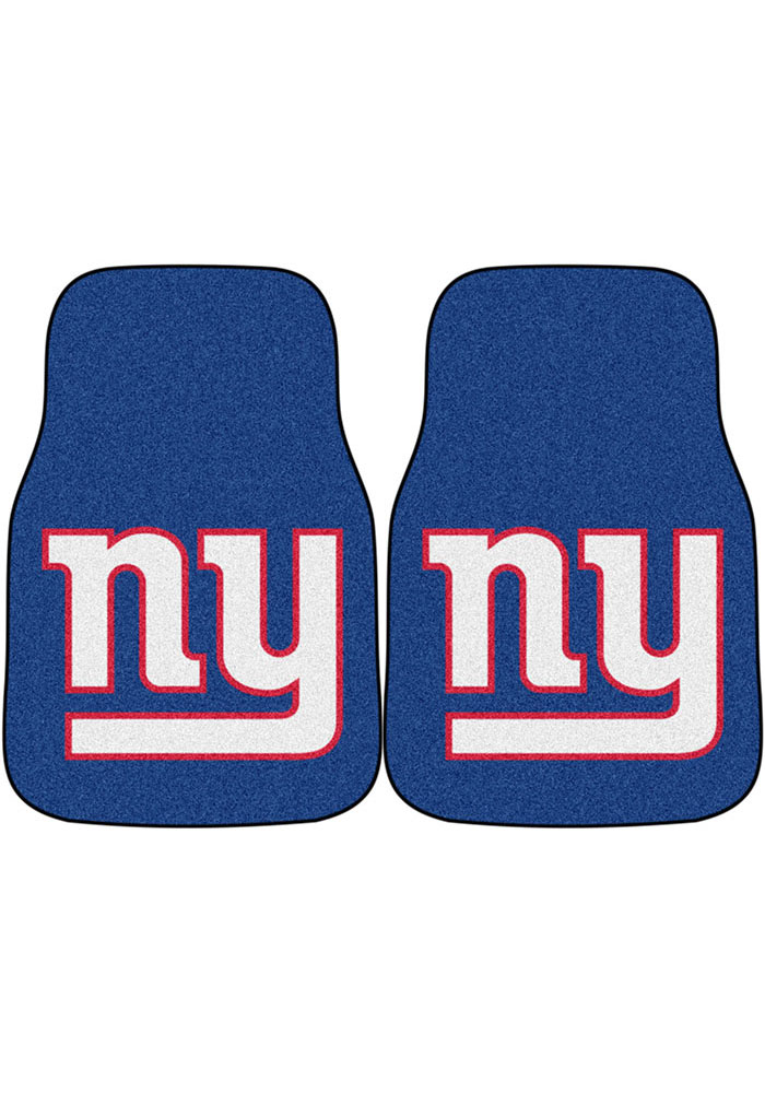 Sports Licensing Solutions New York Giants 2-Piece Carpet Car Mat - Red - Image 1