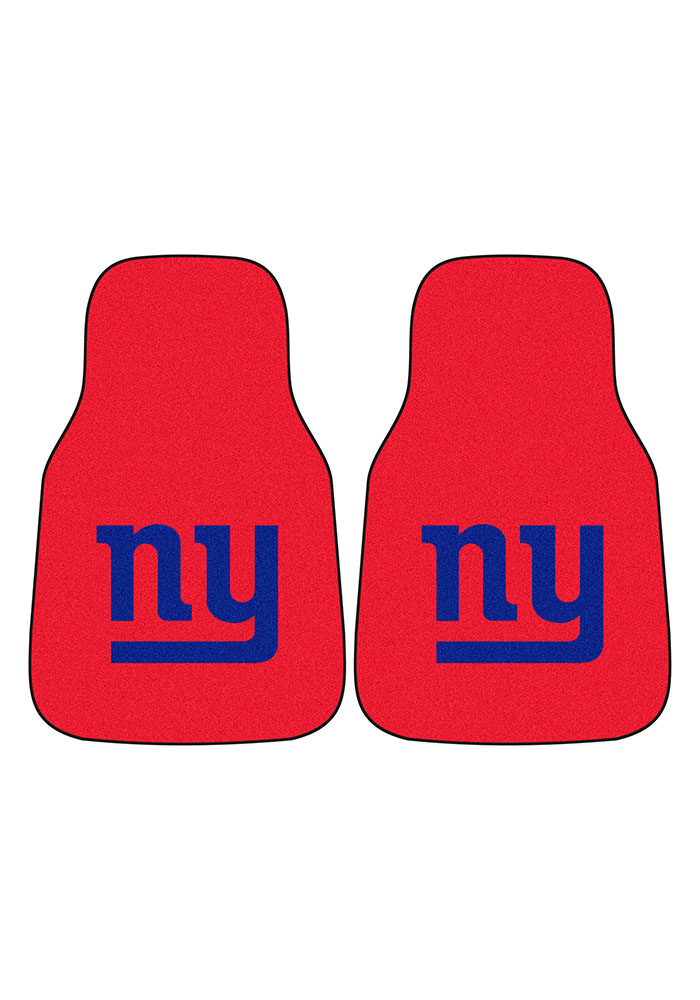 Sports Licensing Solutions New York Giants 2-Piece Carpet Car Mat - Red - Image 2