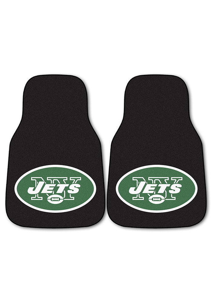 New York Jets 2-Piece Carpet Car Mat - Image 2