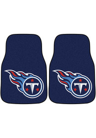 Sports Licensing Solutions Tennessee Titans 2-Piece Carpet Car Mat - Blue