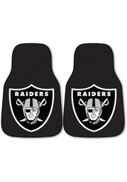 Oakland Raiders 2-Piece Carpet Auto Car Mat