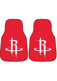 Sports Licensing Solutions Houston Rockets 2-Piece Carpet Car Mat - Red