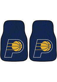 Sports Licensing Solutions Indiana Pacers 2-Piece Carpet Car Mat - Yellow