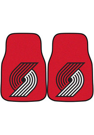 Sports Licensing Solutions Portland Trail Blazers 2-Piece Carpet Car Mat - Red