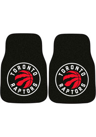 Sports Licensing Solutions Toronto Raptors 2-Piece Carpet Car Mat - Red