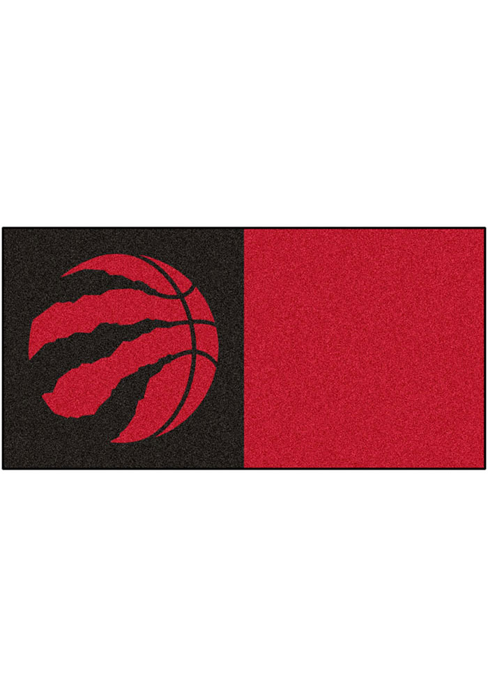 Toronto Raptors 18x18 Team Tiles Interior Rug - Image 1