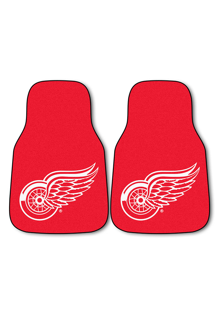 Sports Licensing Solutions Detroit Red Wings 2-Piece Carpet Car Mat - Red - Image 2