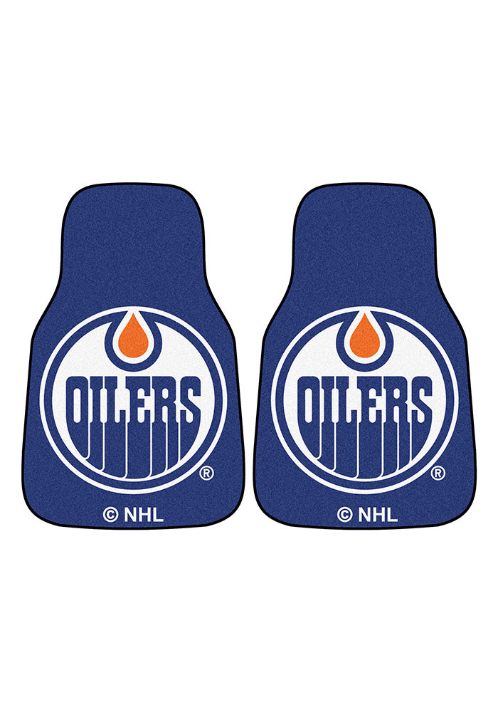 Edmonton Oilers 2-Piece Carpet Car Mat - Image 2