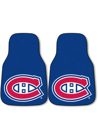 Sports Licensing Solutions Montreal Canadiens 2-Piece Carpet Car Mat - Blue
