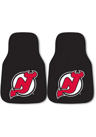 Sports Licensing Solutions New Jersey Devils 2-Piece Carpet Car Mat - Black