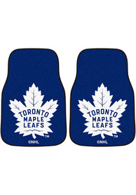 Sports Licensing Solutions Toronto Maple Leafs 2-Piece Carpet Car Mat - Blue