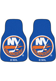Sports Licensing Solutions New York Islanders 2-Piece Carpet Car Mat - Blue