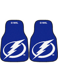 Sports Licensing Solutions Tampa Bay Lightning 2-Piece Carpet Car Mat - Blue