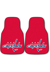 Sports Licensing Solutions Washington Capitals 2-Piece Carpet Car Mat - Red