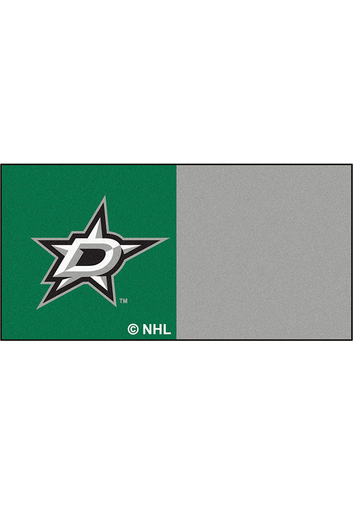 Dallas Stars 18x18 Team Tiles Interior Rug - Image 1