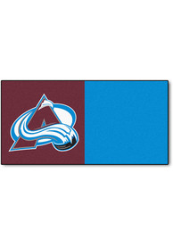 Colorado Avs 18x18 Team Tiles Interior Rug