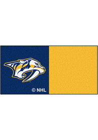Nashville Preds 18x18 Team Tiles Interior Rug