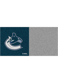 Vancouver Canucks 18x18 Team Tiles Interior Rug