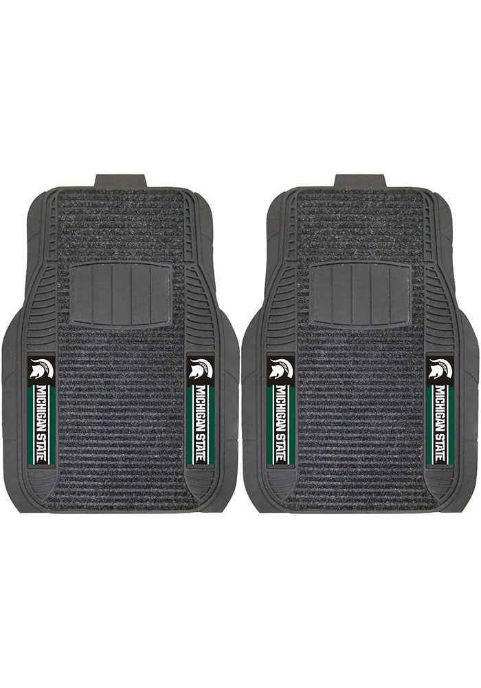 Michigan State Spartans 20x27 Deluxe Car Mat - Image 1