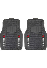 Sports Licensing Solutions Texas A&M Aggies 21x27 Deluxe Car Mat - Black
