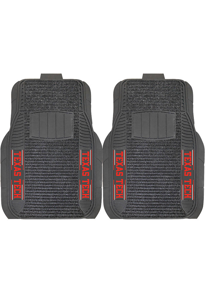 Sports Licensing Solutions Texas Tech Red Raiders 21x27 Deluxe Car Mat - Black - Image 1
