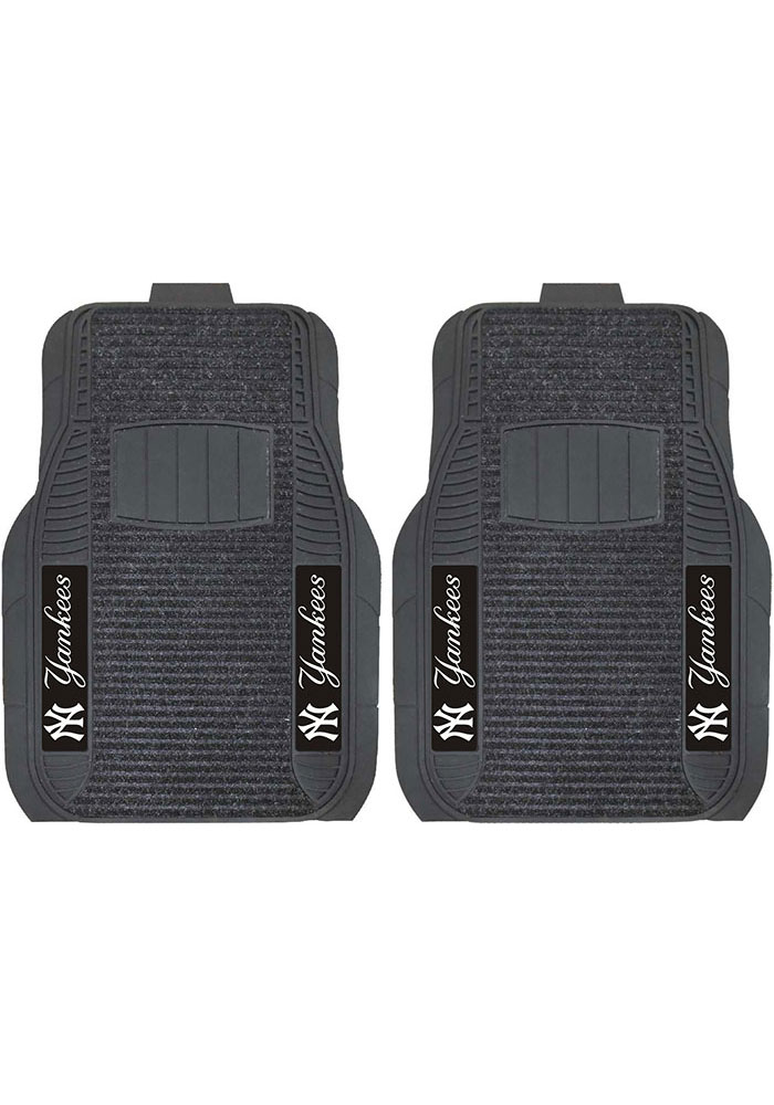 Sports Licensing Solutions New York Yankees 21x27 Deluxe Car Mat - Black - Image 1