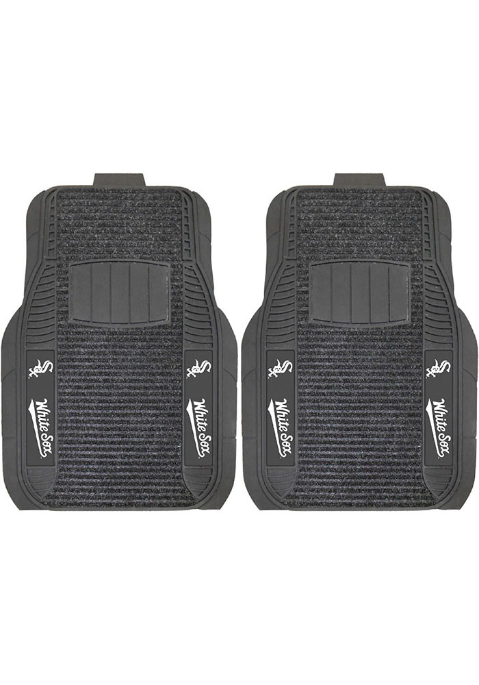 Sports Licensing Solutions Chicago White Sox 21x27 Deluxe Car Mat - Black - Image 1
