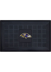 Baltimore Ravens Black Vinyl Door Mat