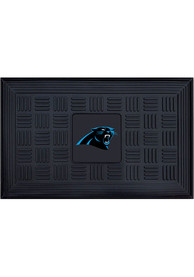 Carolina Panthers Black Vinyl Door Mat