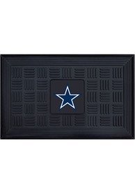 Dallas Cowboys Black Vinyl Door Mat