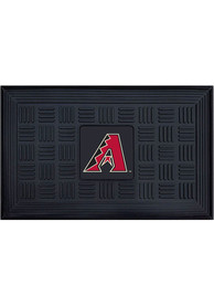 Arizona Diamondbacks Black Vinyl Door Mat