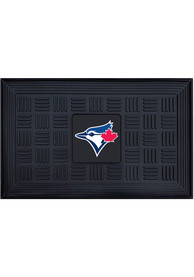 Toronto Blue Jays Black Vinyl Door Mat
