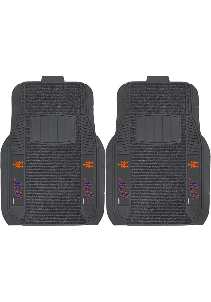 Sports Licensing Solutions New York Mets 21x27 Deluxe Car Mat - Black - Image 1