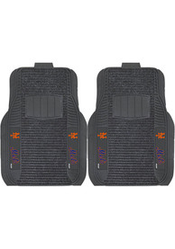 Sports Licensing Solutions New York Mets 21x27 Deluxe Car Mat - Black