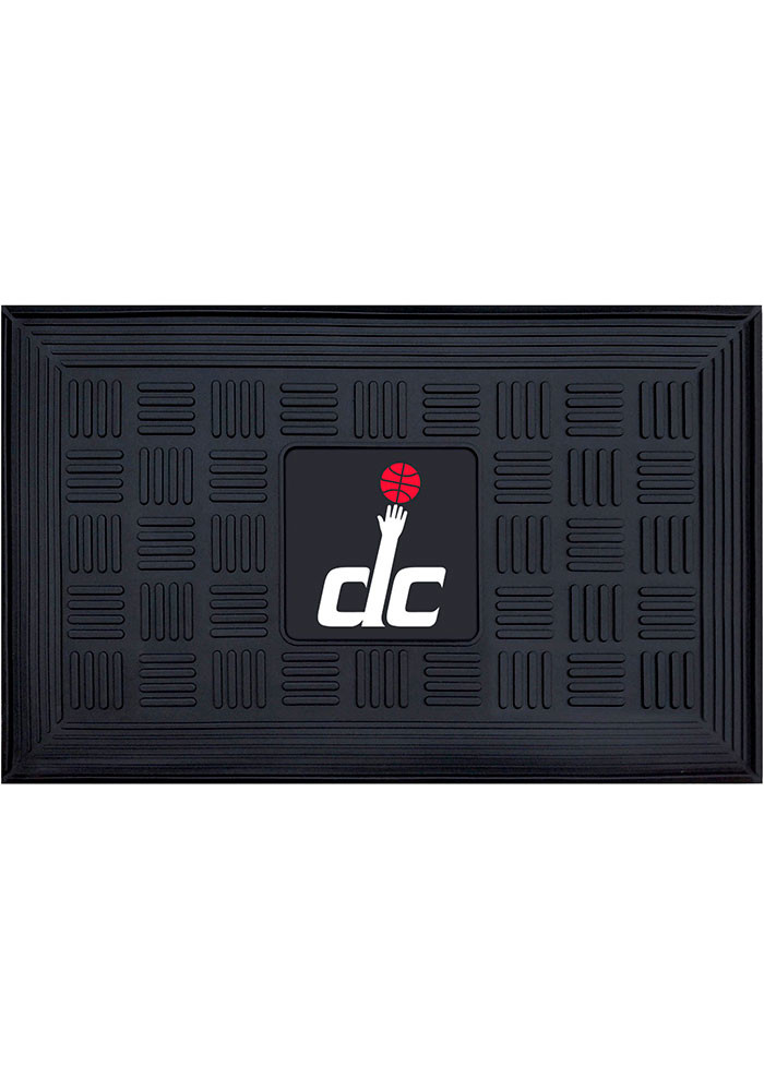 Washington Wizards Black Vinyl Door Mat - Image 1