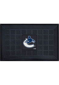 Vancouver Canucks Black Vinyl Door Mat
