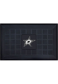 Dallas Stars Black Vinyl Door Mat