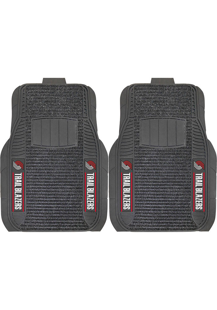 Sports Licensing Solutions Portland Trail Blazers 21x27 Deluxe Car Mat - Black - Image 1