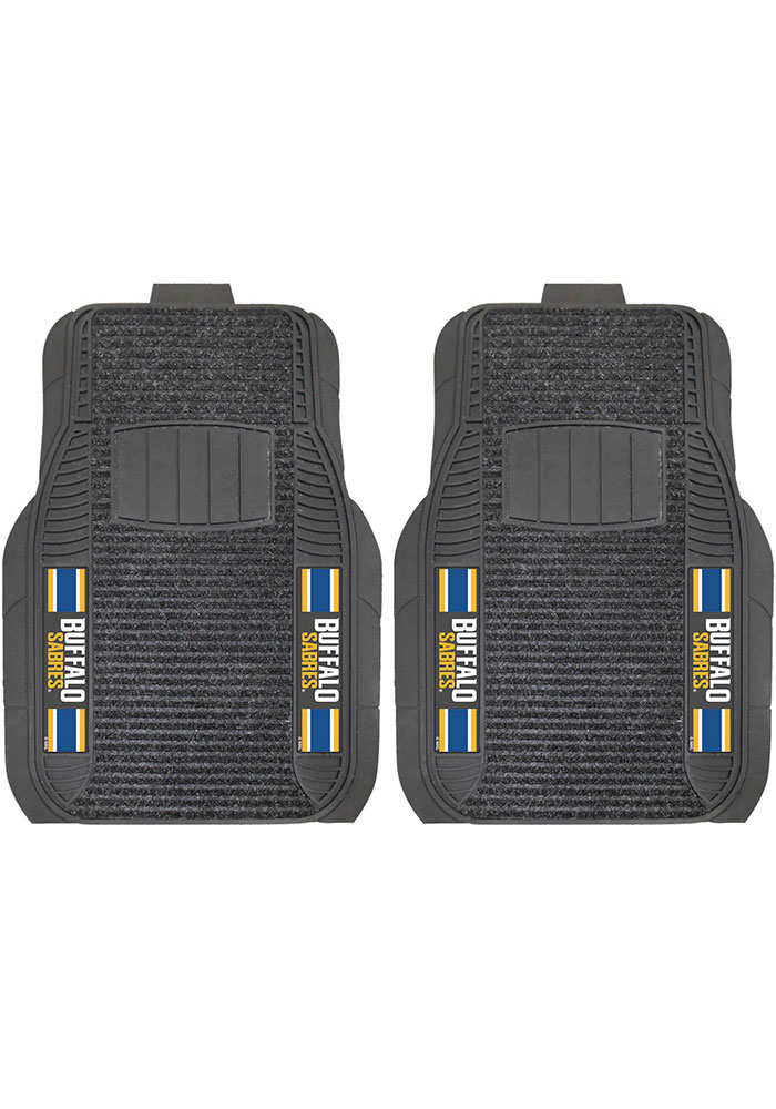 Sports Licensing Solutions Buffalo Sabres 20x27 Deluxe Car Mat - Black - Image 1