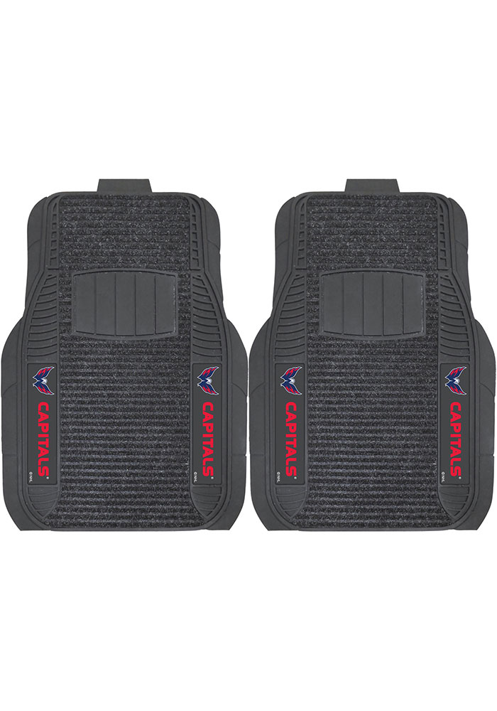 Sports Licensing Solutions Washington Capitals 21x27 Deluxe Car Mat - Black - Image 1