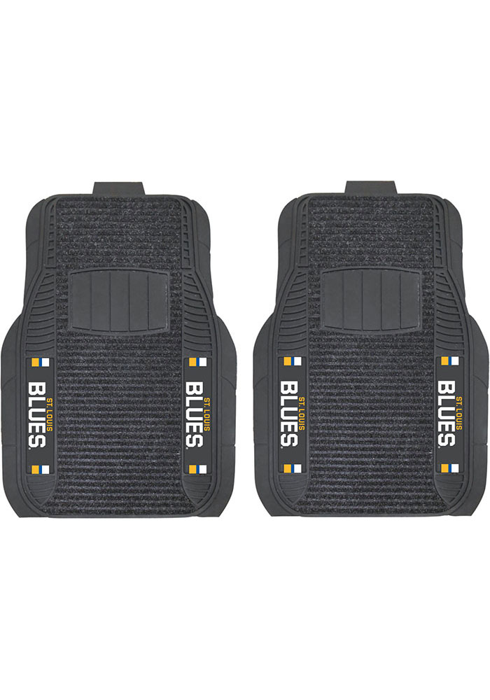 Sports Licensing Solutions St Louis Blues 21x27 Deluxe Car Mat - Black - Image 1