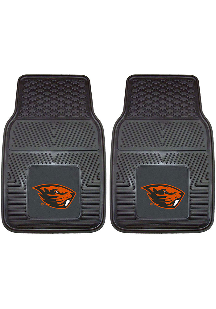 Oregon State Beavers 18x27 Vinyl Car Mat - Image 1