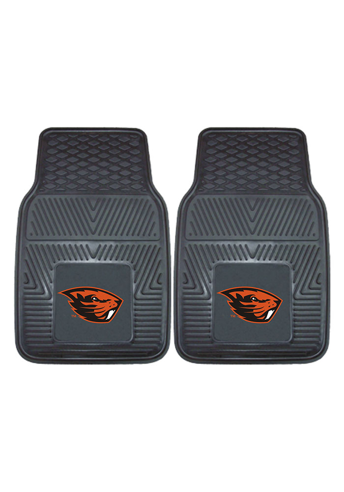 Oregon State Beavers 18x27 Vinyl Car Mat - Image 2