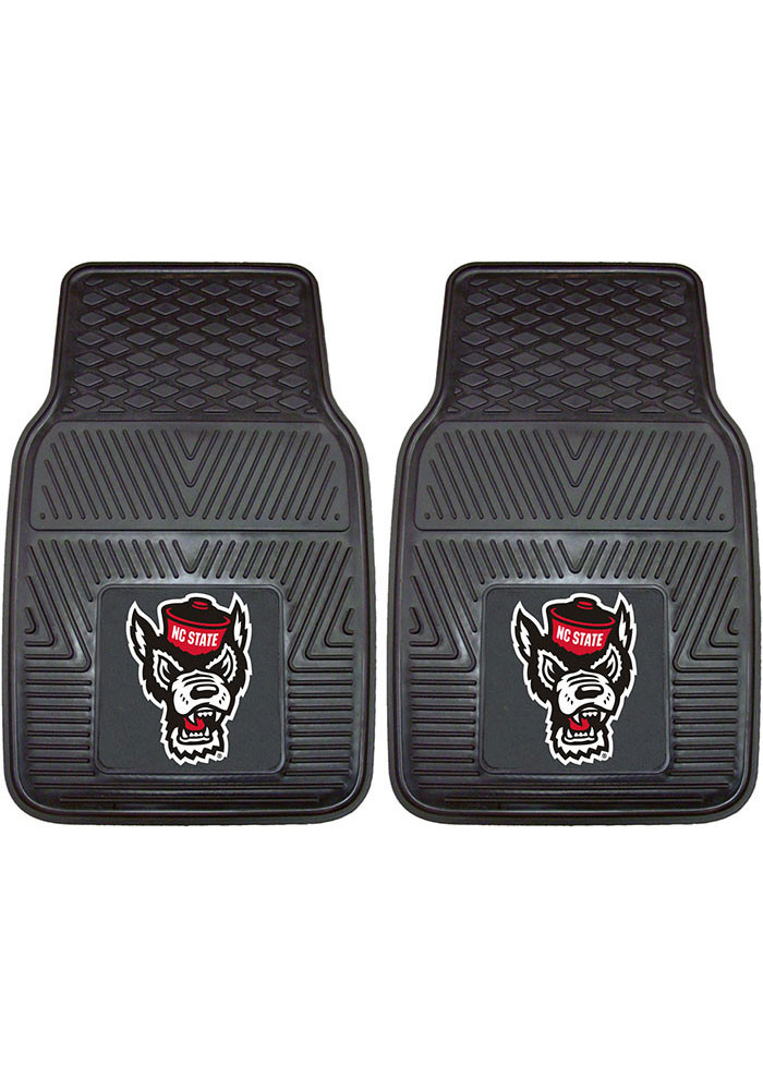 NC State Wolfpack 18x27 Vinyl Car Mat - Image 1
