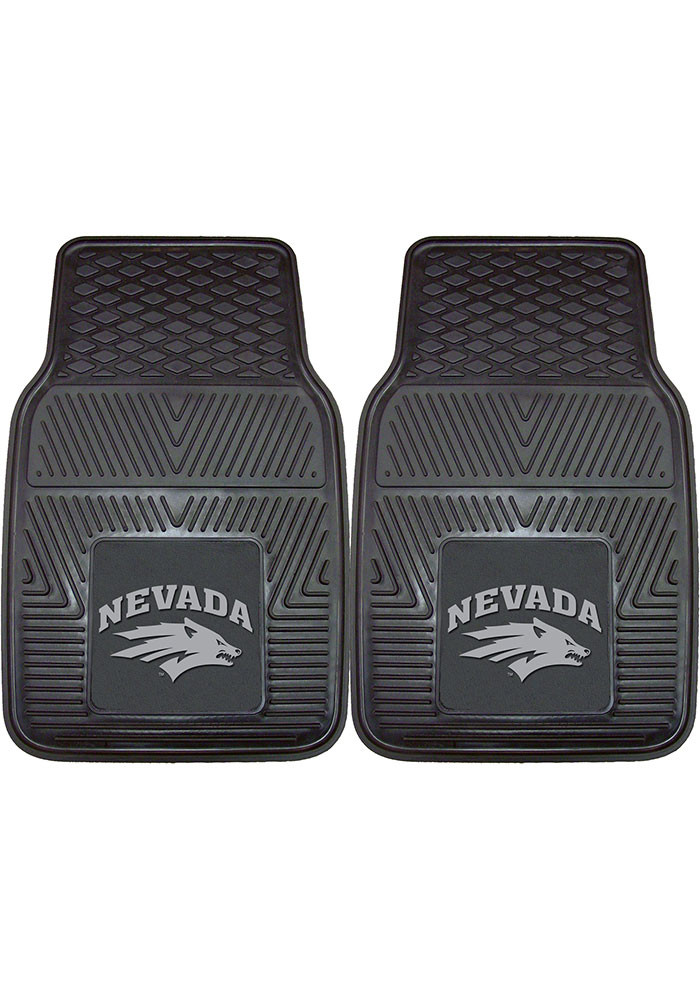 Nevada Wolf Pack 18x27 Vinyl Car Mat - Image 1